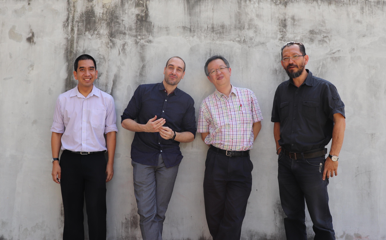 Cropped Quartet Promo Shot